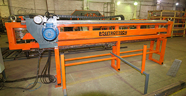 Mesh shears up to 8000 mm width